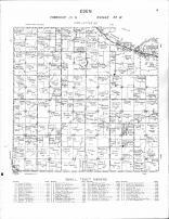 Eden Township 2, Minnesota River, Long Tree Lake, Brown County 1964 Published by Thomas O. Nelson Co